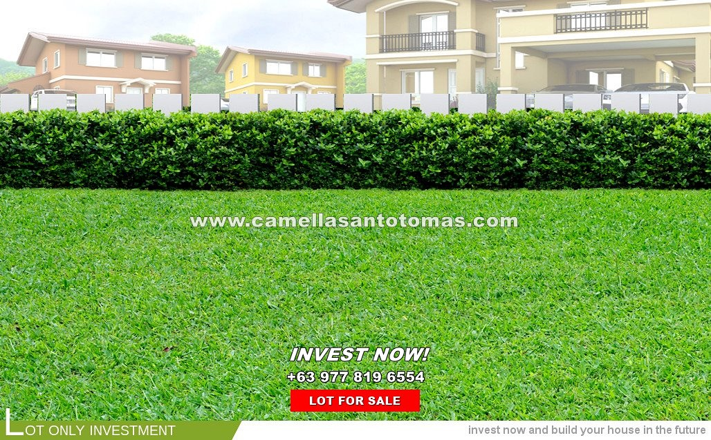 Lot House for Sale in Santo Tomas