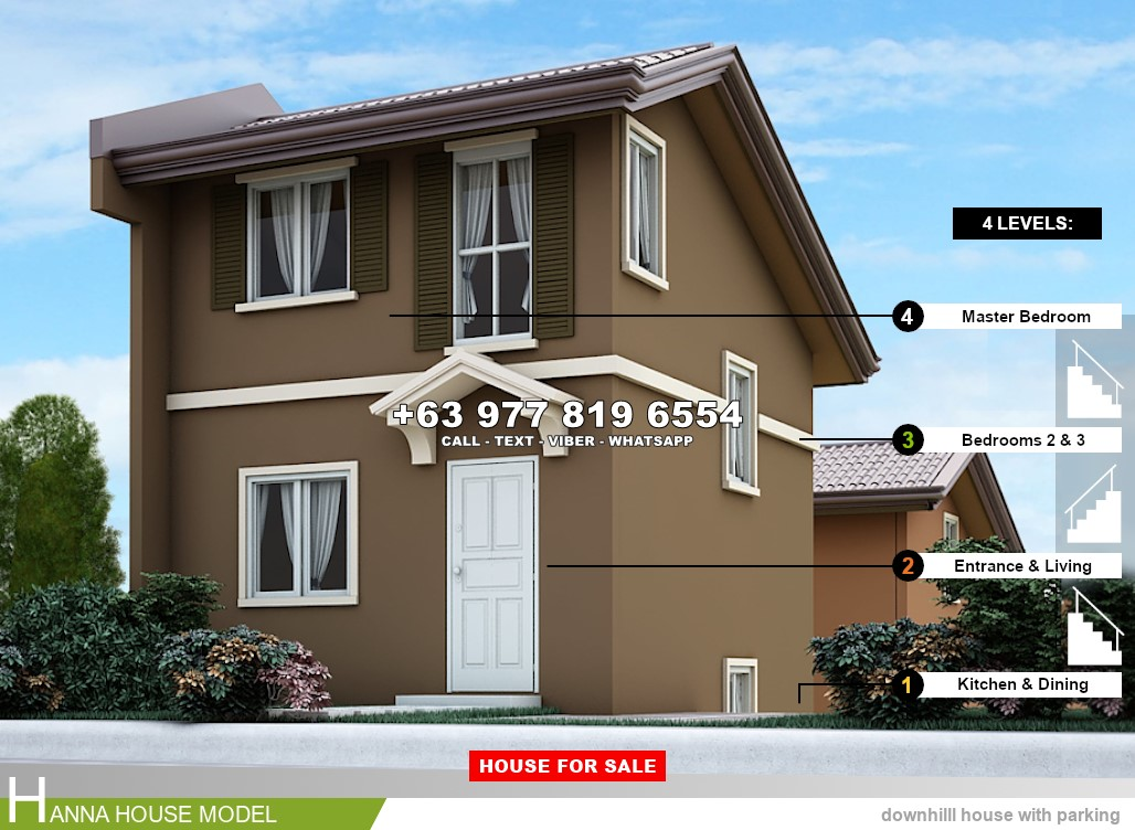 Hanna House for Sale in Santo Tomas