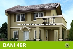 Dani House and Lot for Sale in Santo Tomas Philippines