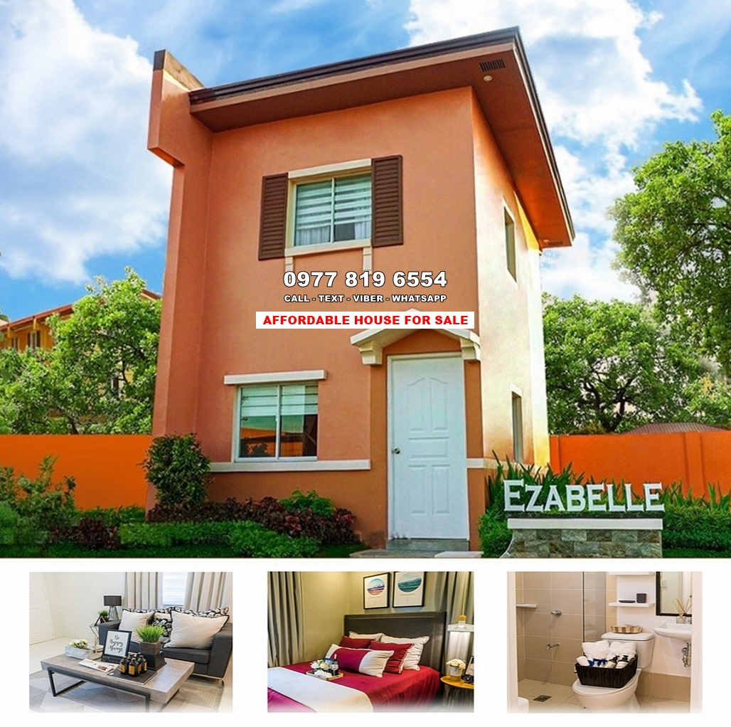 Ezabelle House for Sale in Santo Tomas