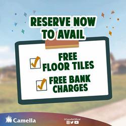 Promo for Camella Santo Tomas.